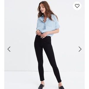 Madewell Skinny Skinny Ankle High Riser Jeans